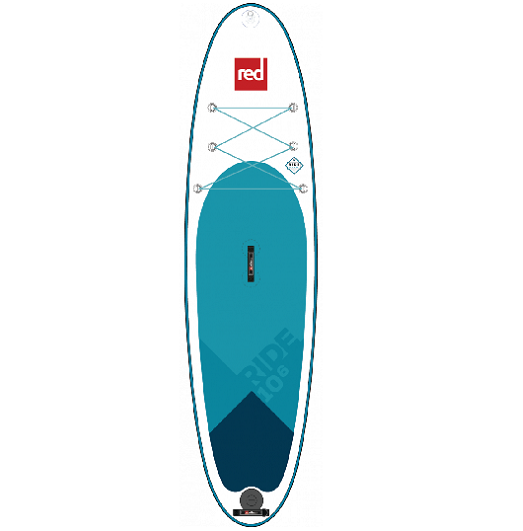 10'6 Red SUP Ride
